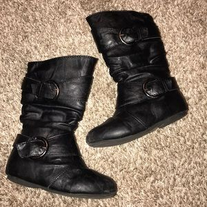 Other - Black toddler boots
